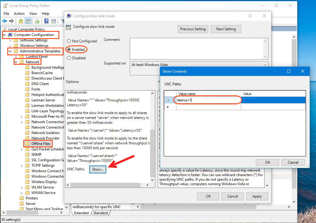 How to Enable Offline Files Policy in Windows? - Tactig