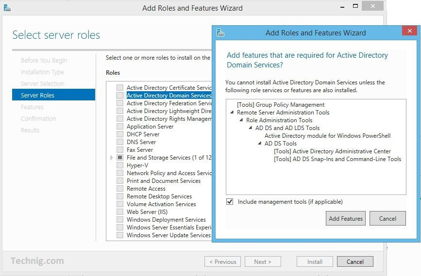 Install active directory domain services on windows server 2016 learnitpro net - Installer console active directory windows 7 ...