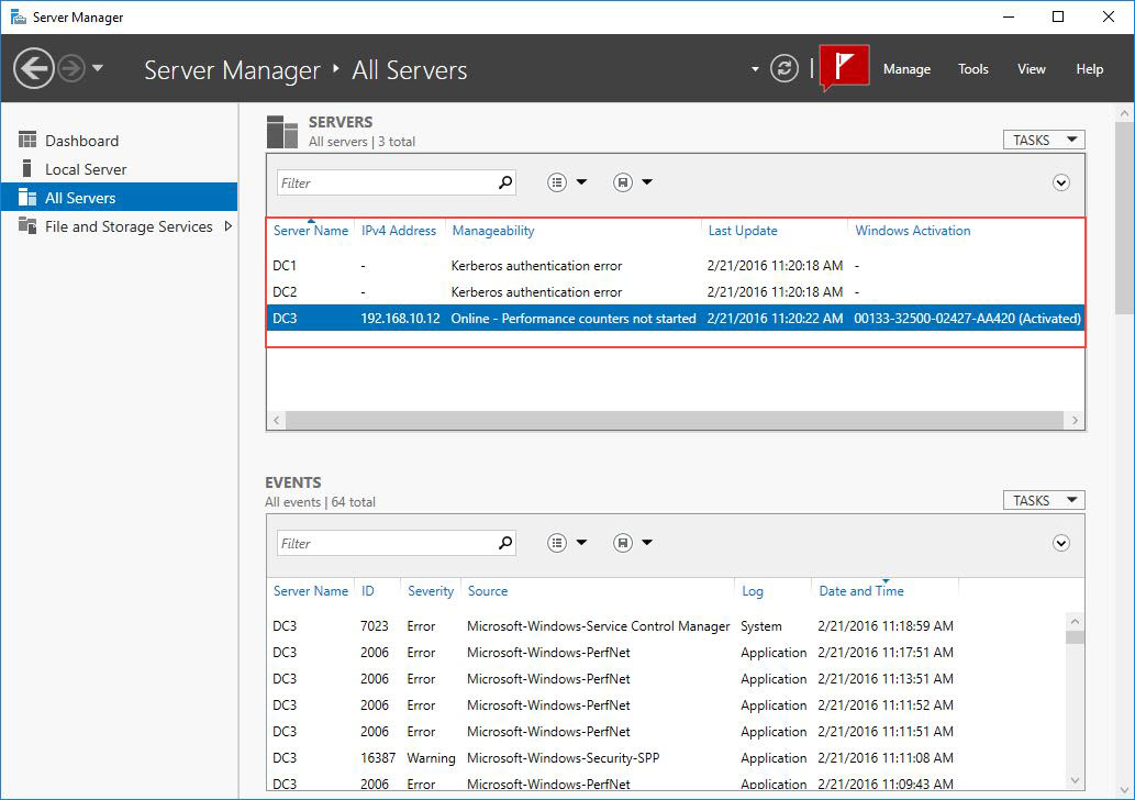 How to Add Multiple Servers in Windows Server 2016? - Tactig