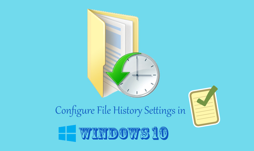 Configure File History Settings