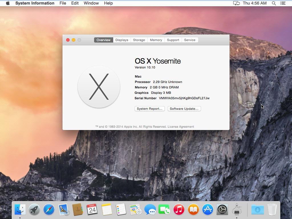 Install Mac OS X Yosemite