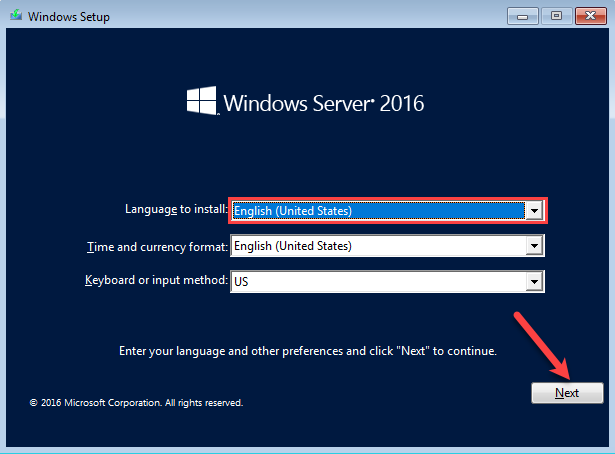 Install Windows Server 2016 Step by Step - Tactig