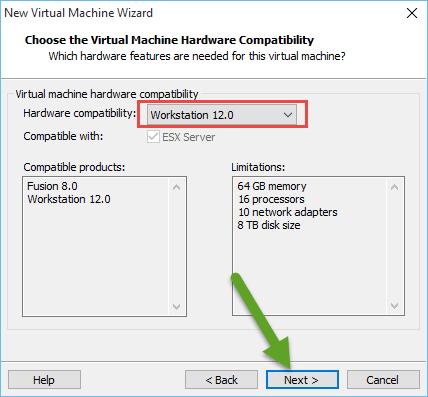 Install Windows Server 2016 on VMware Workstation step by