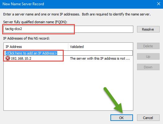 Name Server Record