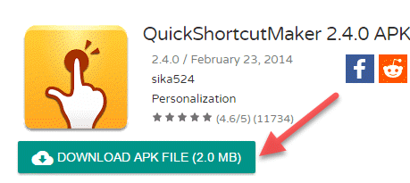 Quick-Shortcut-Maker