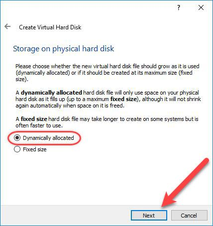 Storage on Pysical Disk