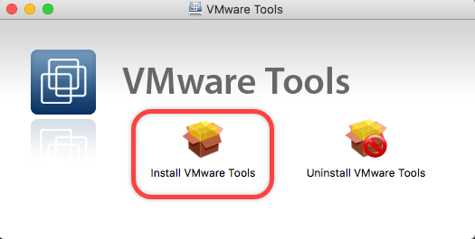 Install VMware Tools on MacOS Sierra 10 12 to Enhance VM