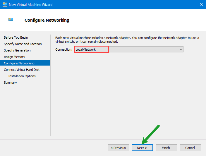 Configure Networking