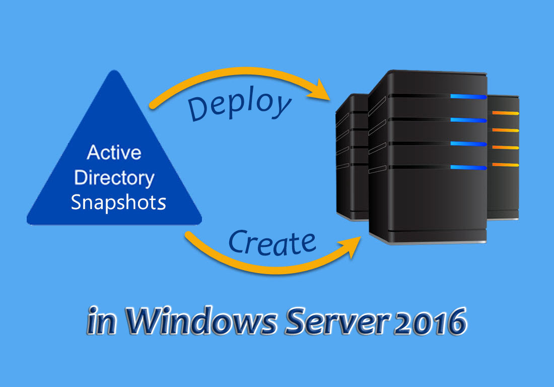 Create-Deploy-AD-Snapshot-in-Windows-Server-2016