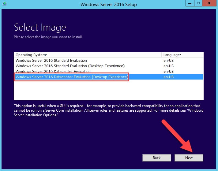 Windows Server 2016 editions