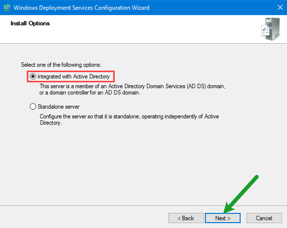 Integrated With Active Directory
