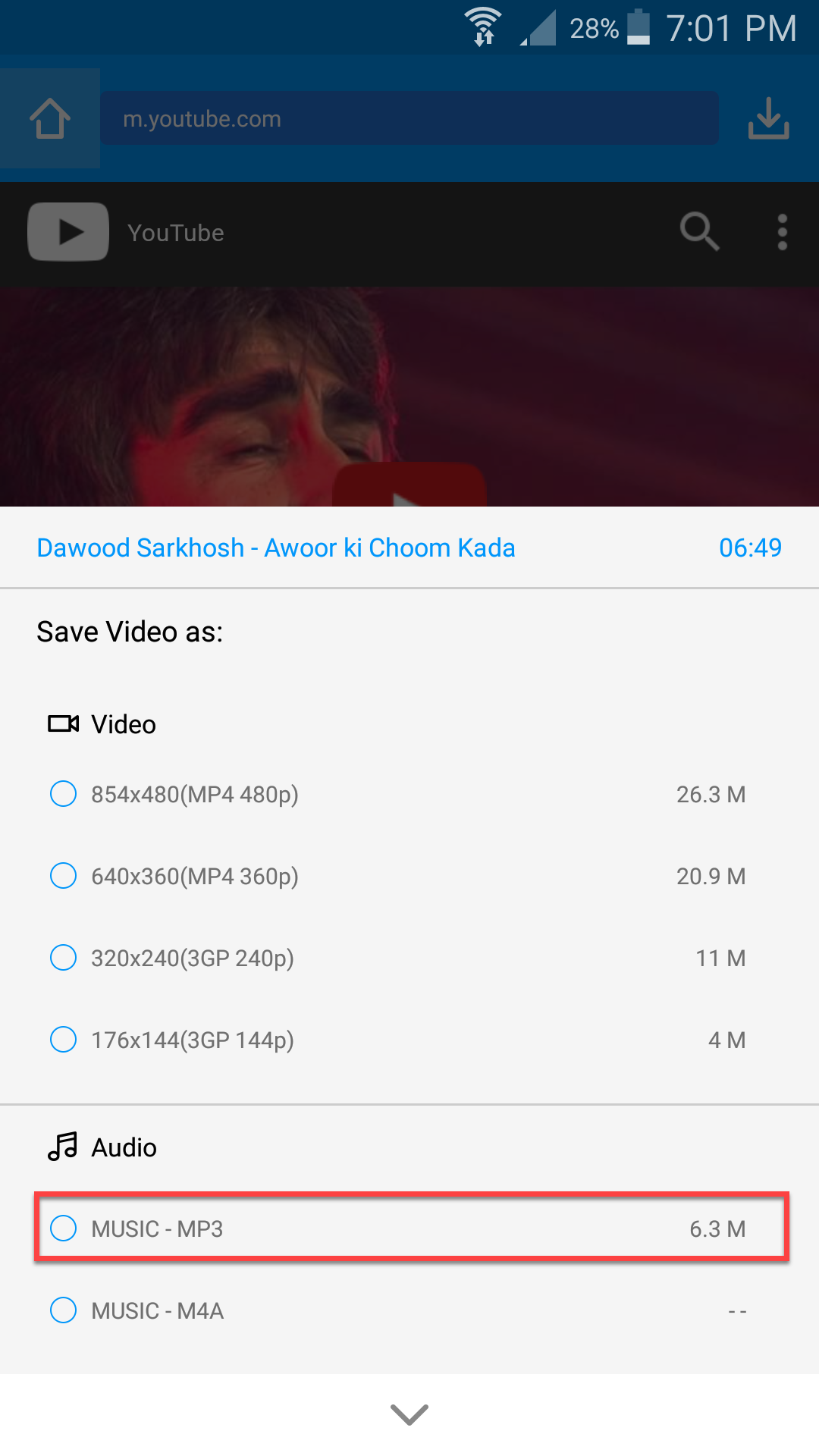 How To Download YouTube Videos on Android via KeepVid - Tactig