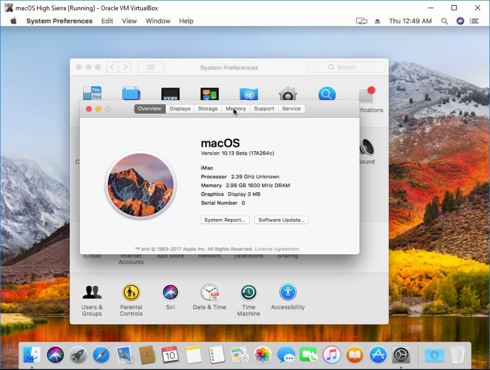 mac os high sierra download without apple id