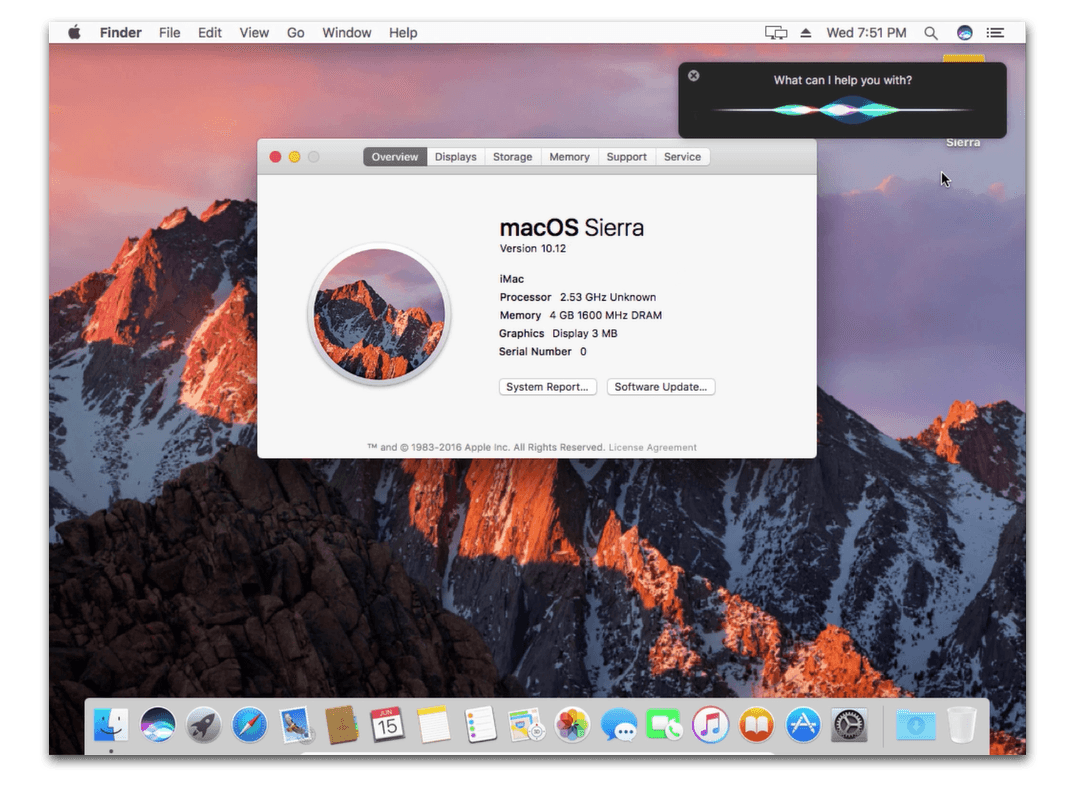 Install macOS Sierra on VirtualBox