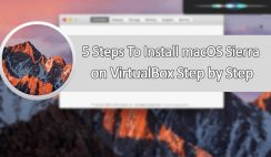 Install macOS Sierra 10.12 on VirtualBox