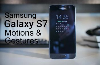 Enable & Use Motions & Gestures on S7 & S7 Edge