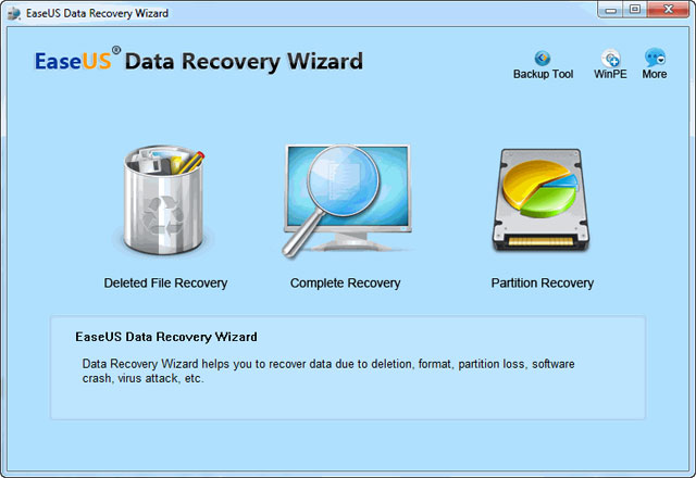 free easeus data recovery